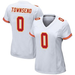 Nike Tommy Townsend Kansas City Chiefs Women's Game White Jersey