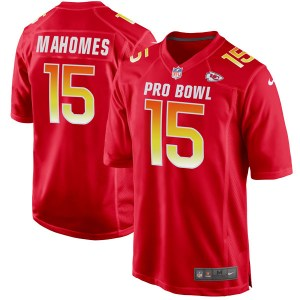 Nike Patrick Mahomes Kansas City Chiefs Men's Game Red AFC 2019 Pro Bowl Jersey