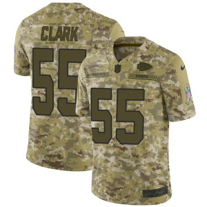 Nike Frank Clark Kansas City Chiefs Youth Limited Camo 2018 Salute to Service Jersey