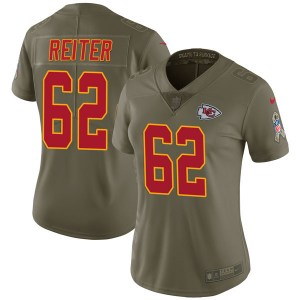 Nike Austin Reiter Kansas City Chiefs Women's Limited Green 2017 Salute to Service Jersey