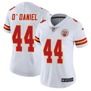 Nike Dorian O'Daniel Kansas City Chiefs Women's Limited White Vapor Untouchable Jersey