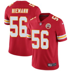 Nike Ben Niemann Kansas City Chiefs Men's Limited Red Team Color Vapor Untouchable Jersey