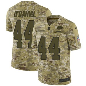 Nike Dorian O'Daniel Kansas City Chiefs Men's Limited Camo 2018 Salute to Service Jersey