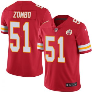 Nike Frank Zombo Kansas City Chiefs Men's Limited Red Team Color Jersey